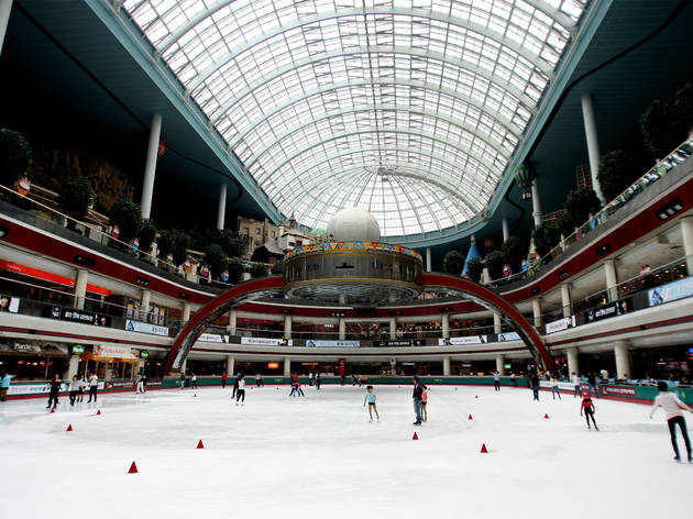 Lotte World Indoor Ice Skating Rink