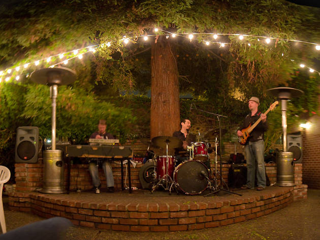 Jupiter, one of the best places to see free live music in the Bay Area