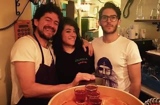 Zicatela (Pepito, Miriam et Guillermo )