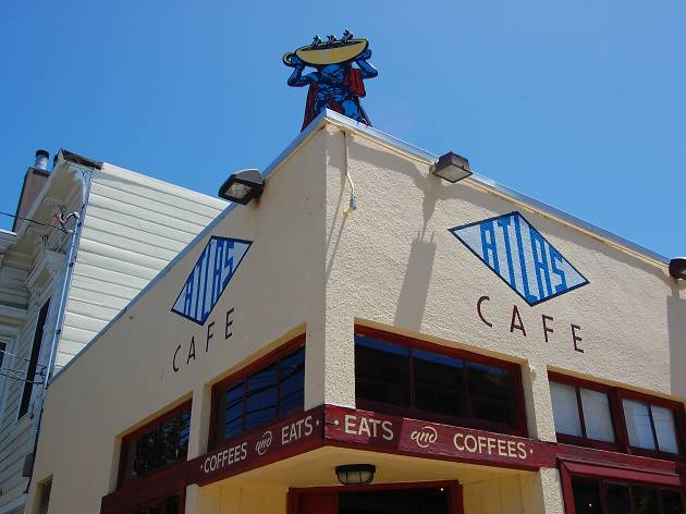 Atlas Cafe, one of the best cafes in San Francisco
