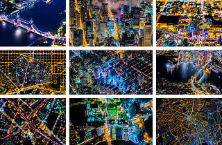 Aerial photography of various cities. From the AIR book by Vincent LaForet