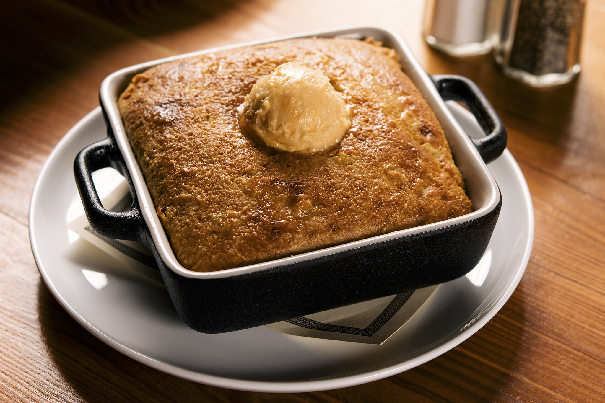 Creole cornbread at Pearl's Southern Comfort