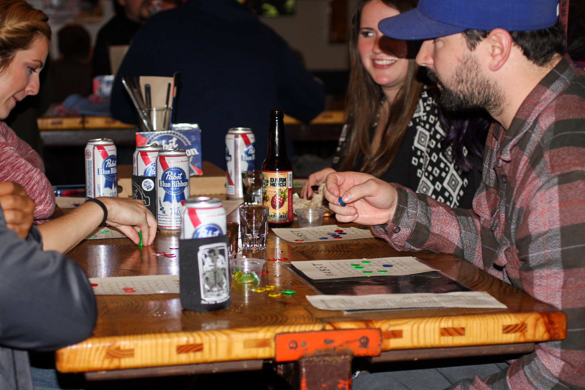 PBR Bingo at Boiler Room