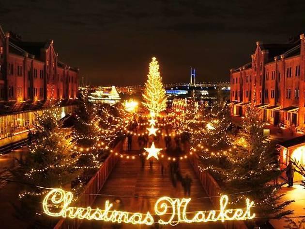 東京、クリスマスマーケット2015