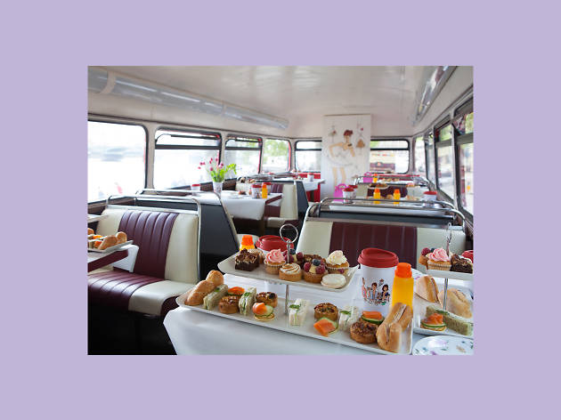 christmas gift guide - Tea for two: BB Bakery's Vintage Afternoon Bus Tour