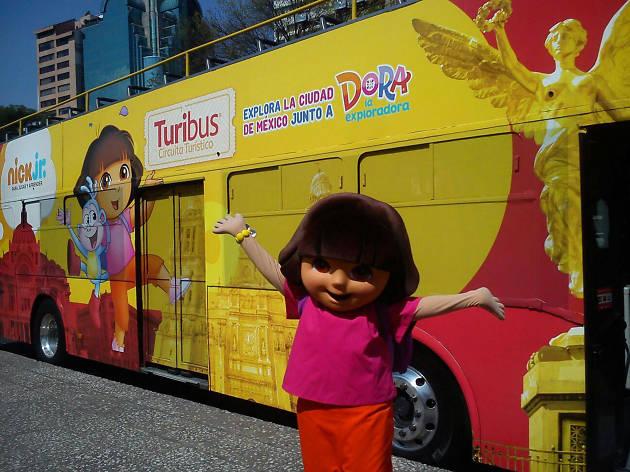 Turibus de Dora, la exploradora