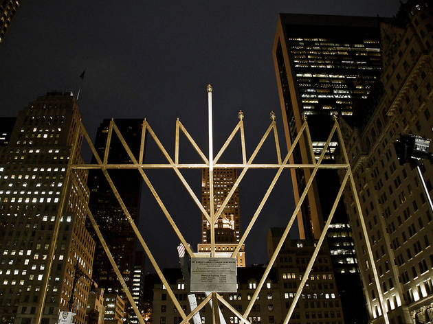 World's Largest Menorah Lighting