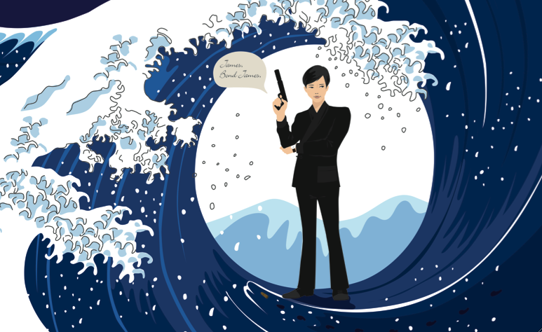 'What if James Bond was Japanese?' from the web at 'https://media.timeout.com/images/102974799/image.jpg'