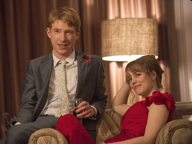 Actors Domhnall Gleeson and Rachel McAdams in About Time