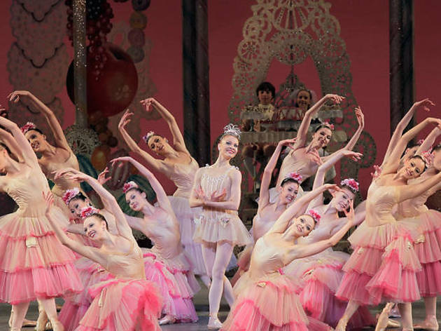 The Nutcracker ballet in NYC for kids