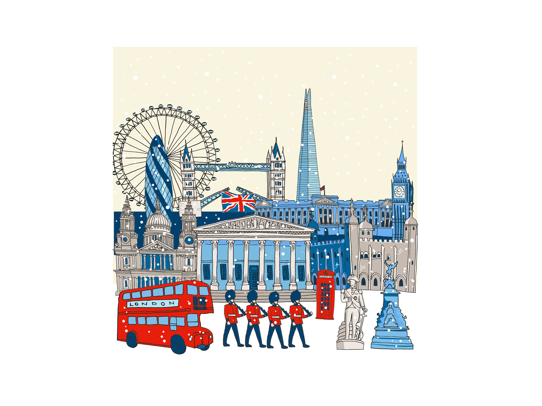 British Museum Christmas Cards 2015