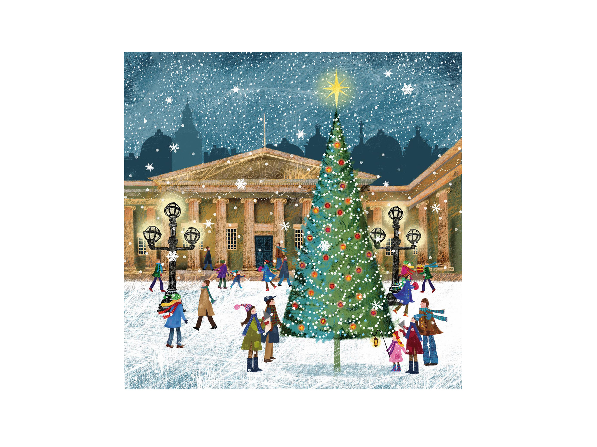 British Museum Christmas Card 2015