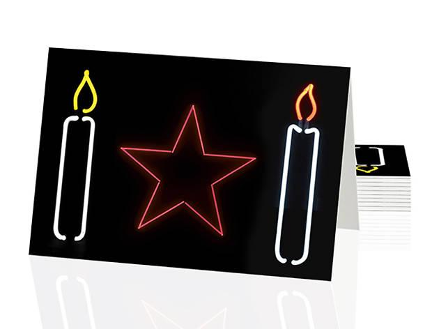 'Neon Christmas' by Gavin Turk