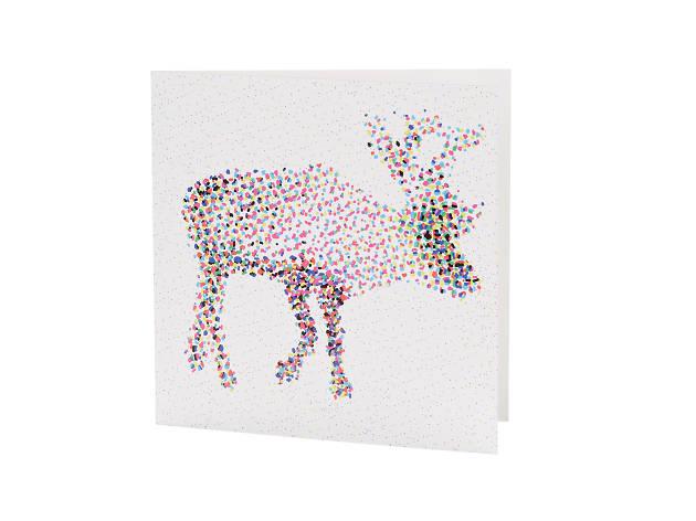 'CMYK Reindeer' by Emily Groves