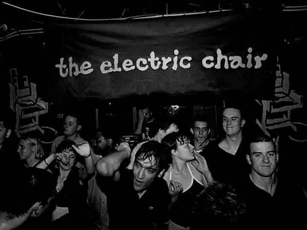 Historic photo of Electric Chair night