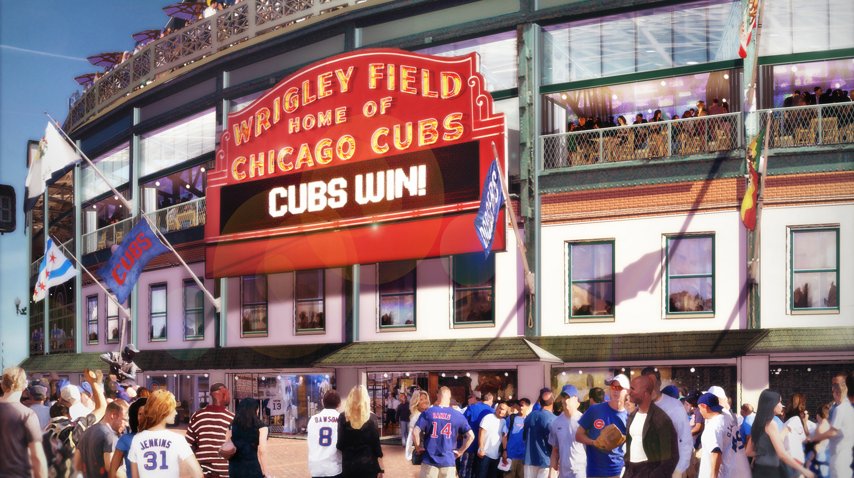 Cubs release renderings of Wrigley Field renovations