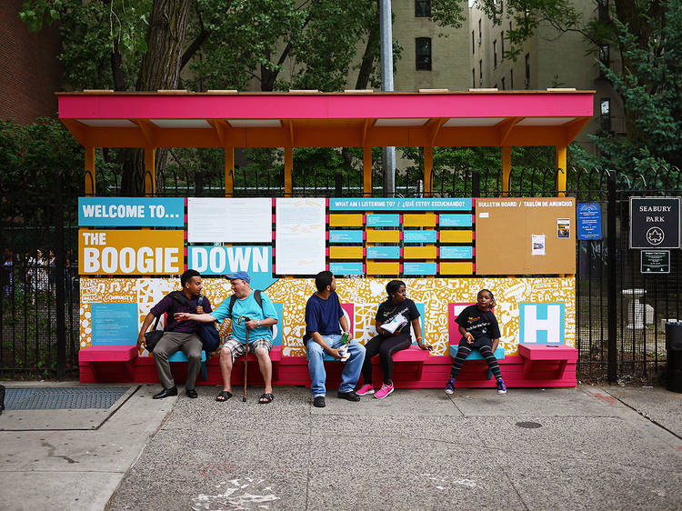 Chat Travieso, Boogie Down Booth, 2015
