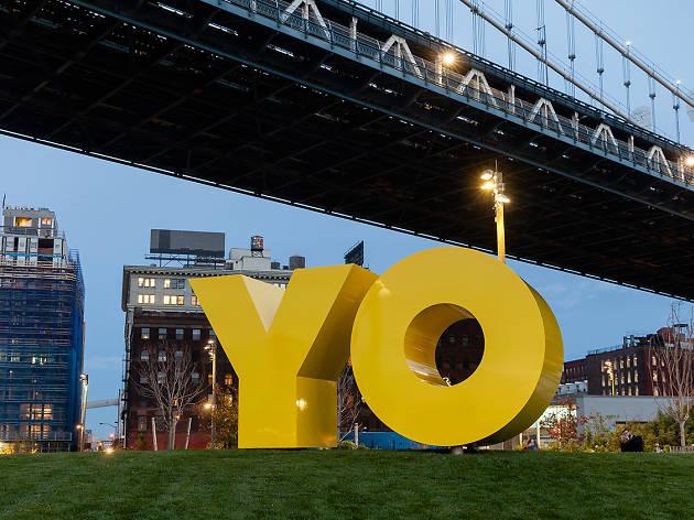Deborah Kass, OY/YO, 2015