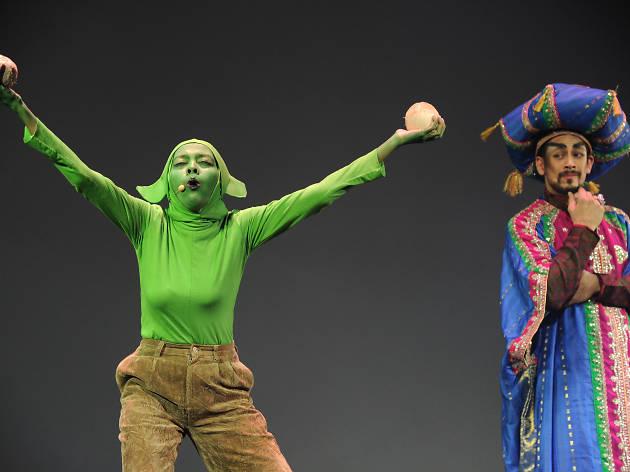 Aladdin: A Musical Comedy