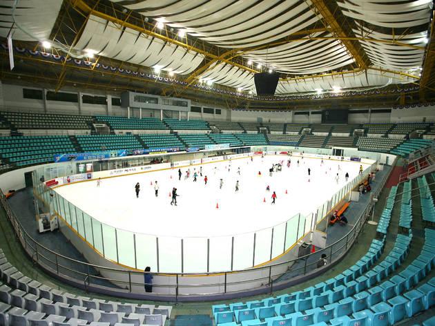 서울의 아이스링크장: 엘사를 꿈꾸며