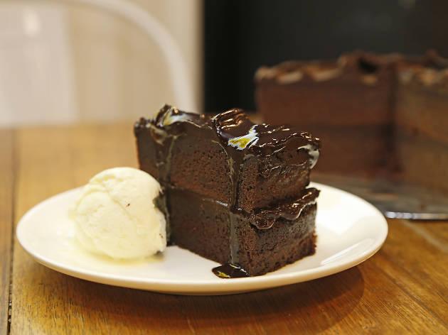 Ben's classic chocolate cake