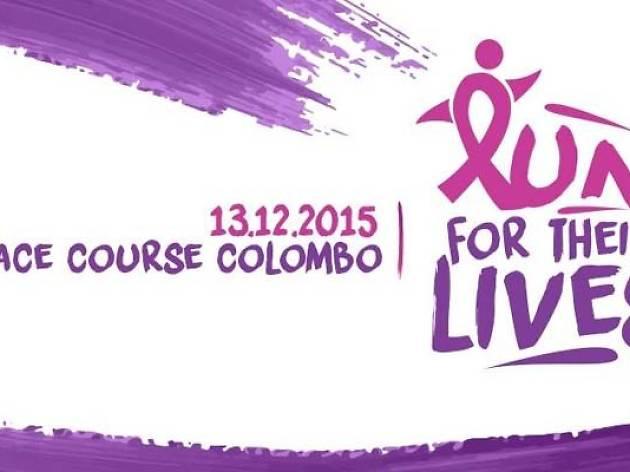 Run for their lives – charity run 2015