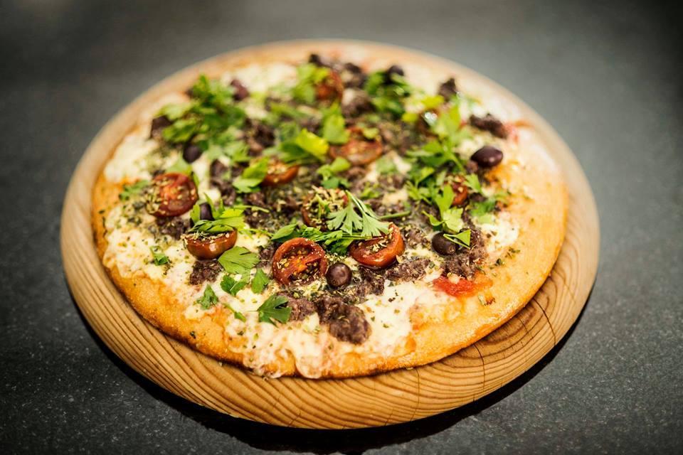 Pizza a la argentina en Picsa