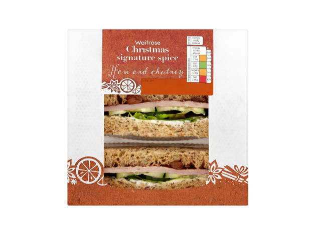 Waitrose: Christmas signature spice ham and chutney