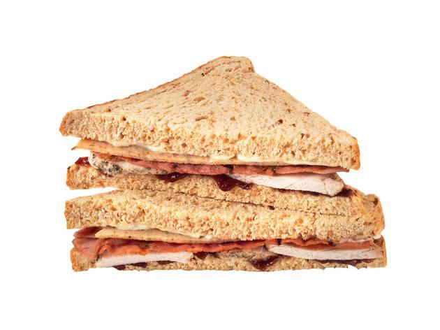 Greggs: Christmas lunch sandwich