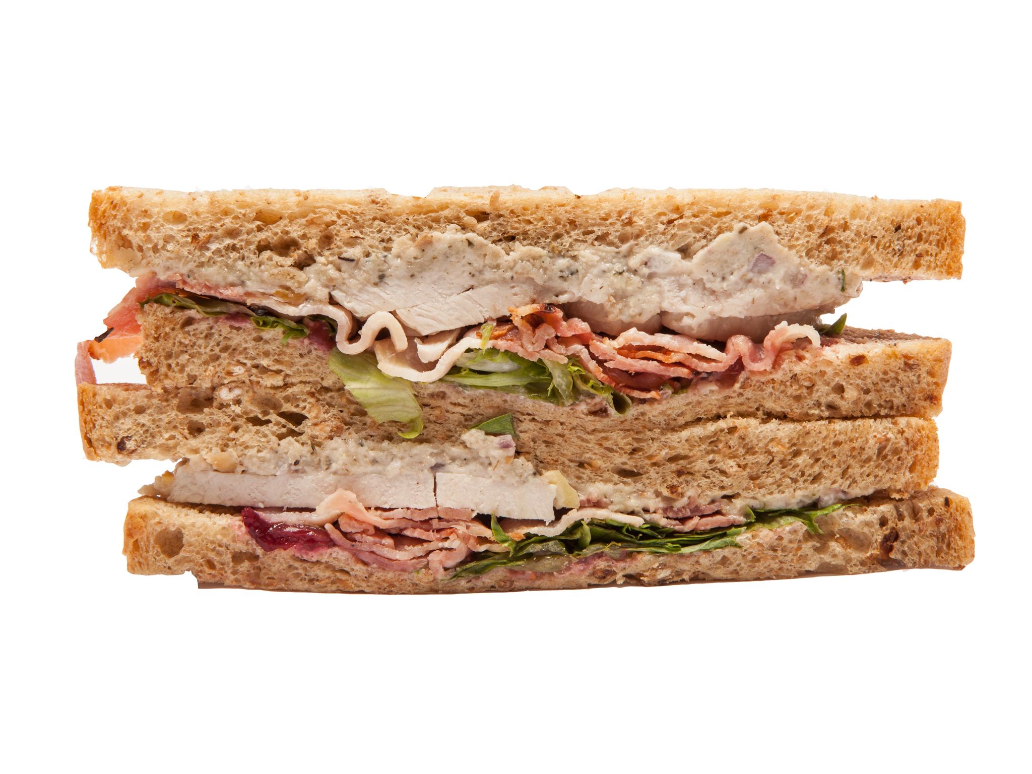 Sainsbury's: Turkey feast wedge sandwich