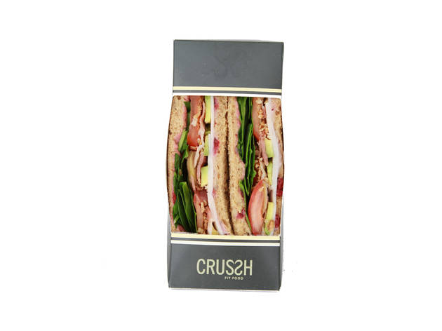 Crussh: Christmas lunch sandwich