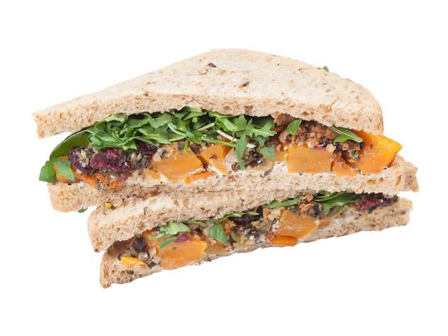 Pret A Manger: Veggie Christmas lunch sandwich