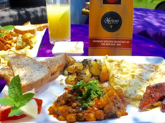 Meriem's Brunch, Republic Bar & Grill, Osu, Accra