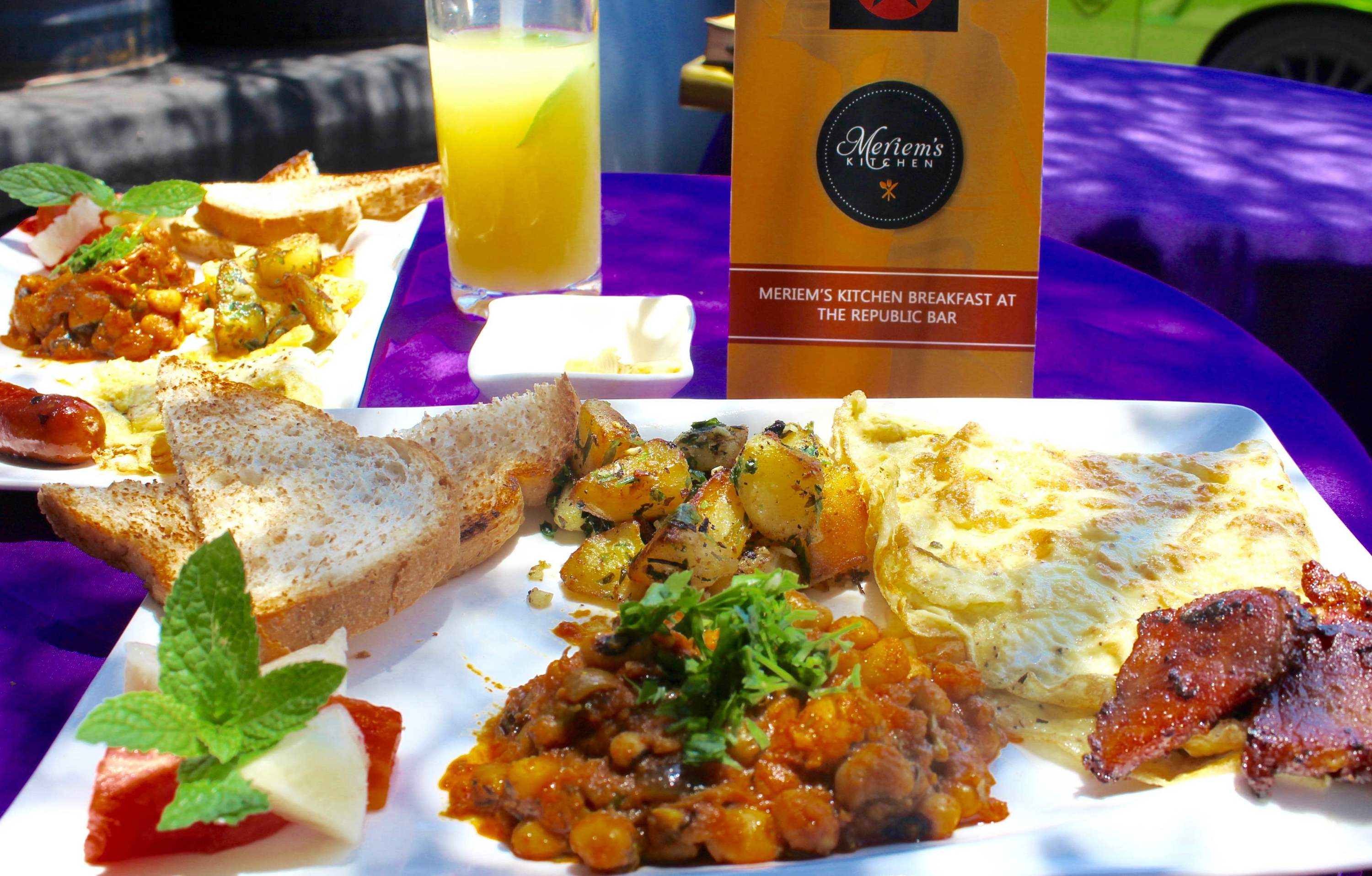 Brunch with Meriem's Kitchen at Republic Bar & Grill