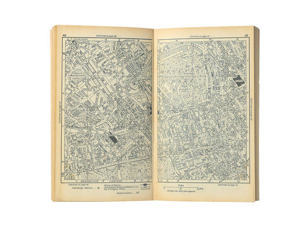 A-Z Atlas and Guide to London and Suburbs, 1936