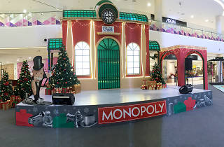 Giant Monopoly Christmas at Quill City Mall