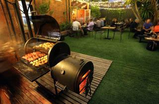 Barbecue (Photograph: Graham Denholm)