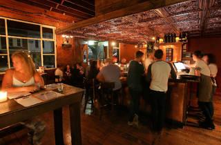 Customers drinking (Photograph: Graham Denholm)
