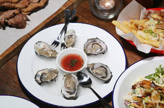 Oysters (Photograph: Graham Denholm)