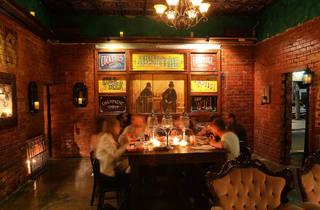 Customers dining (Photograph: Graham Denholm)