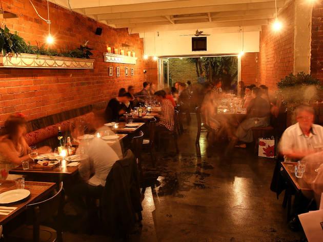 Dining area (Photograph: Graham Denholm)