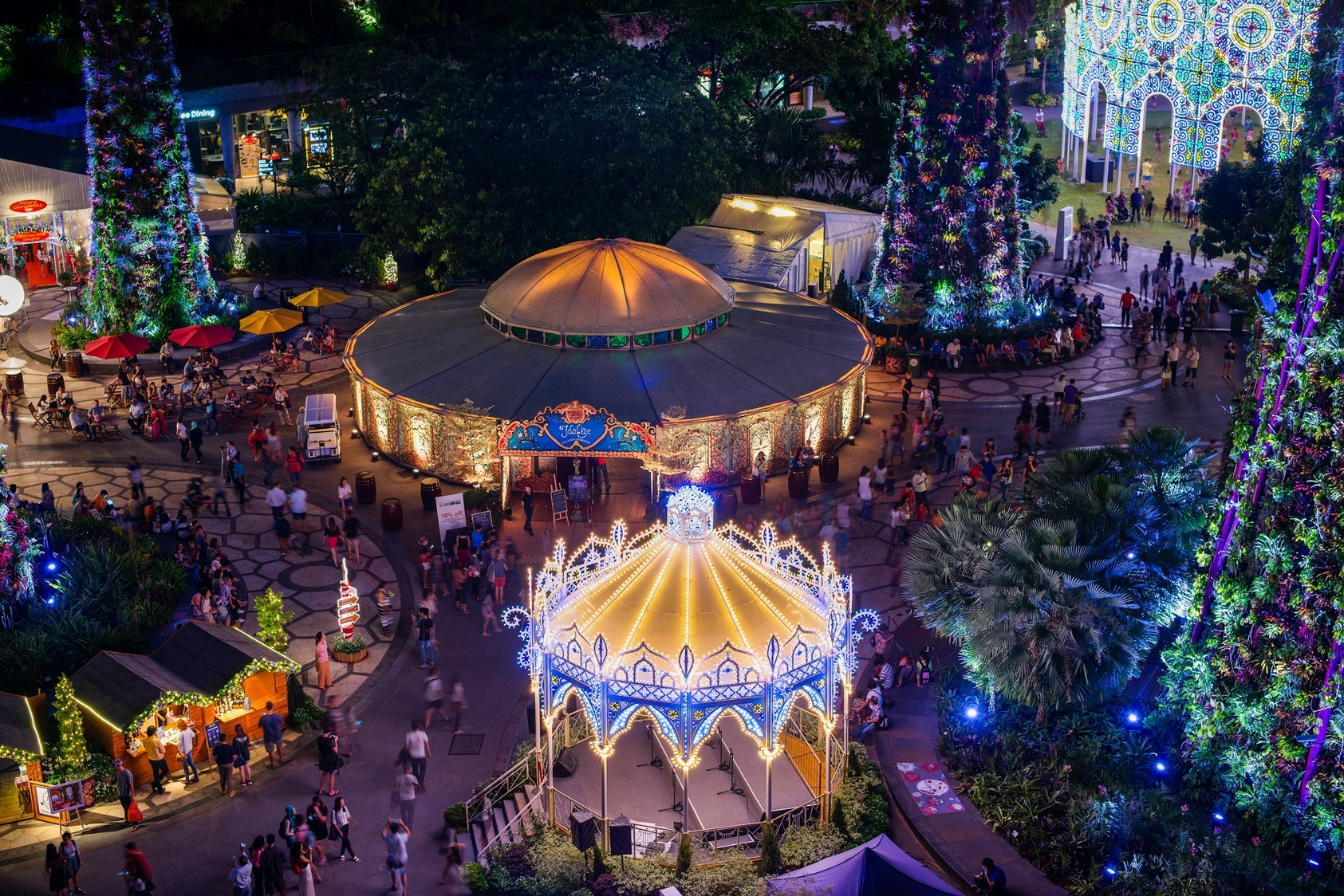 five attractions we cant wait to see at christmas wonderland at gardens by the bay