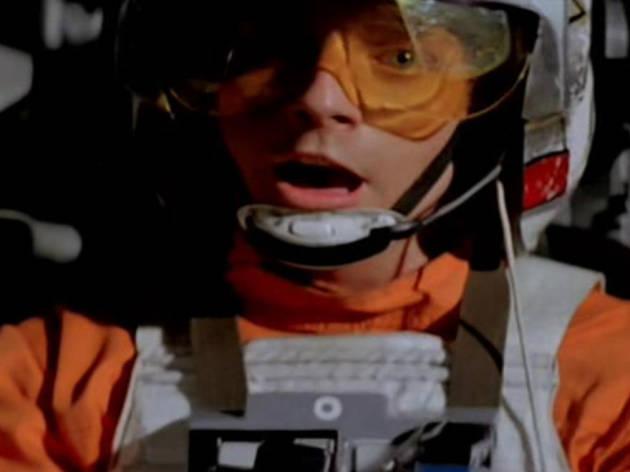 """Use the force, Luke."""