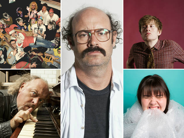 The top ten comedy shows this month