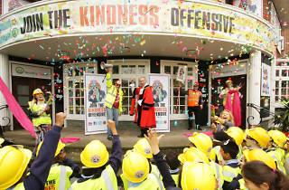 Kindness Offensive bookshop Holloway 2015