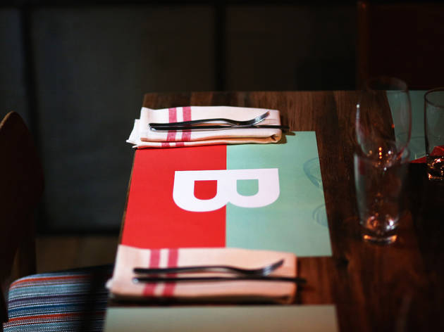 Placemat at Bomba
