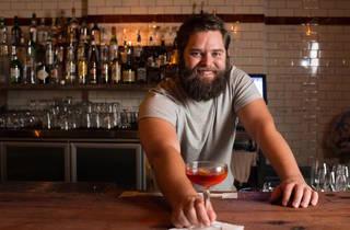 Bartender at Mary's (Photograph: Oscar Colman)