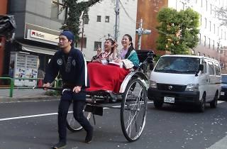 人力車で渋谷散策