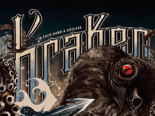 In Each Hand a Cutlass – The Kraken