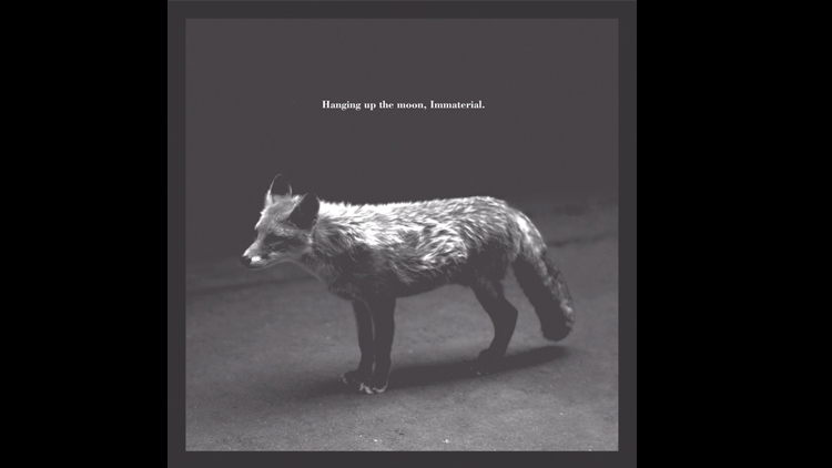 Hanging up the Moon – Immaterial